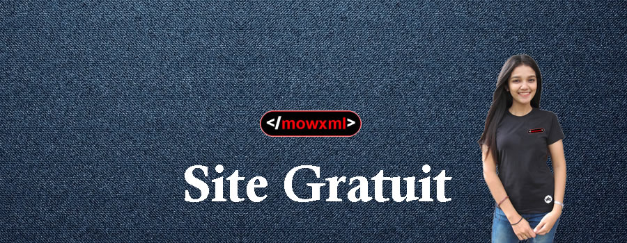 Site Gratuit MowXml