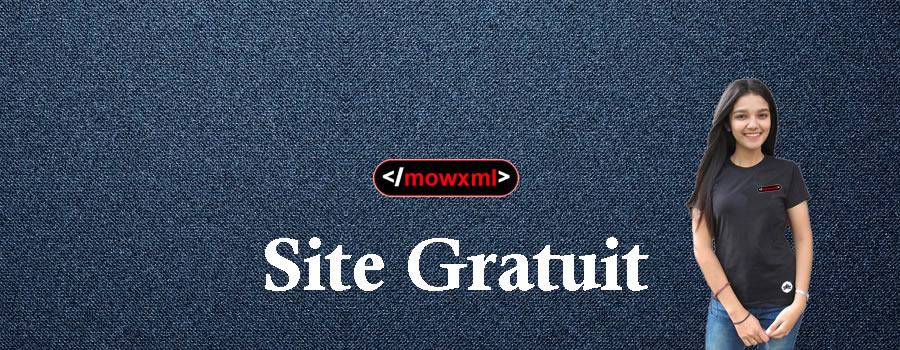 Caractéristiques du site MowXml