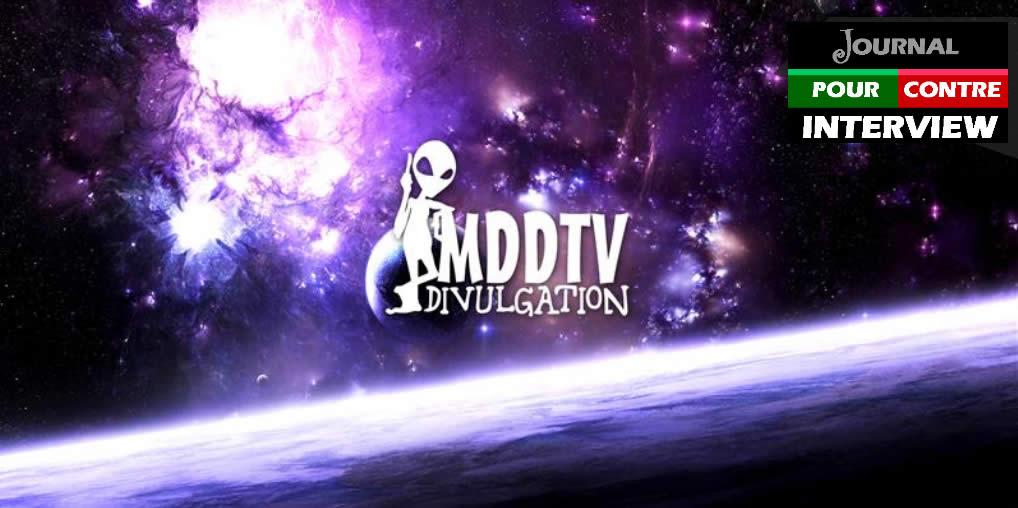 Interview avec Didier de MDDTV - Journal Pour ou Contre - MowXml