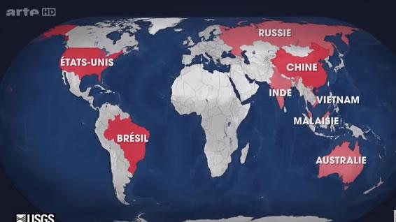 voila pourquoi les USA diabolisent la Corée 216 million TONNE DE terres rares - Journal Pour ou Contre - MowXml