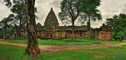 Thaïlande : la route des citadelles khmères : extrême sud de la province de Buriram