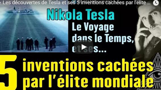 ★ Les découvertes de Tesla et ses 5 inventions cachées par l'élite mondiale - Journal Pour ou Contre - MowXml