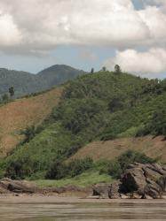 Thaïlande : région du Nord-Est : les environs de Chiang Khan