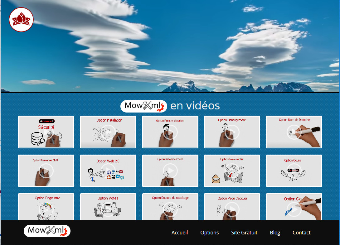 Vidéos Template