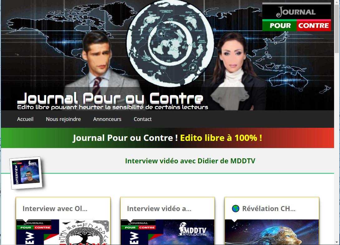 JOURNAL POUR OU CONTRE