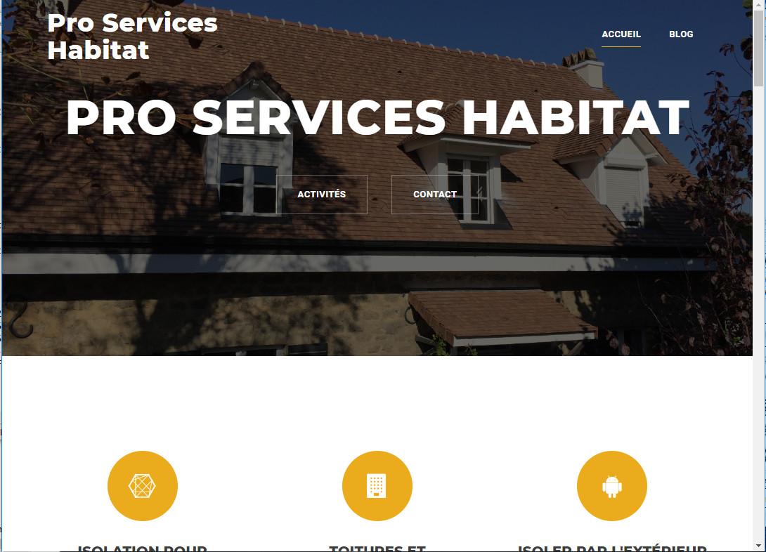 PRO SERVICES HABITAT