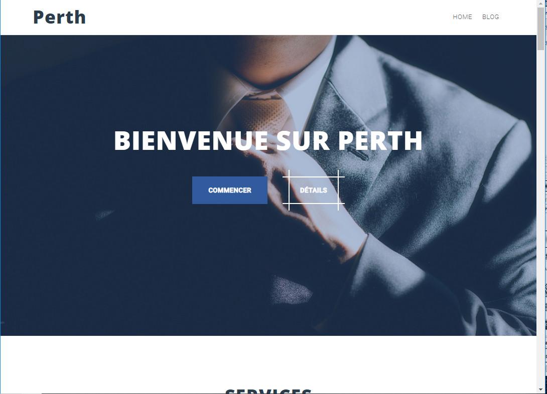 Thème Perth